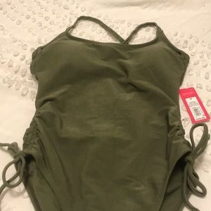 NWT Olive Green One Piece